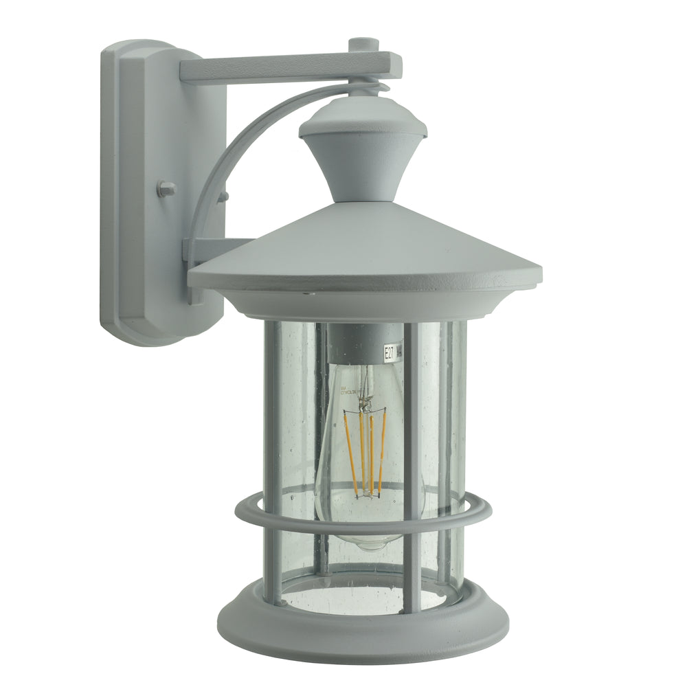 Mayfair White Exterior Coach Light by Amond