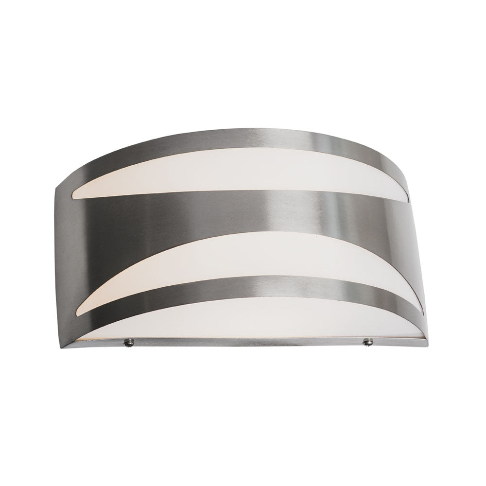 Moretz 316 Stainless Steel Rectangular Dome LED Bunker Wall Light