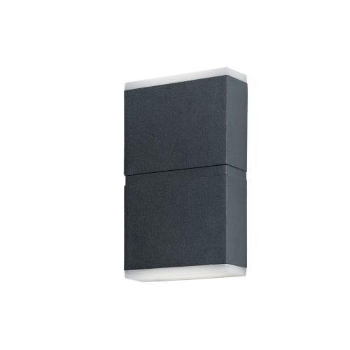 Nariko Charcoal Up/Down LED Box Exterior Wall