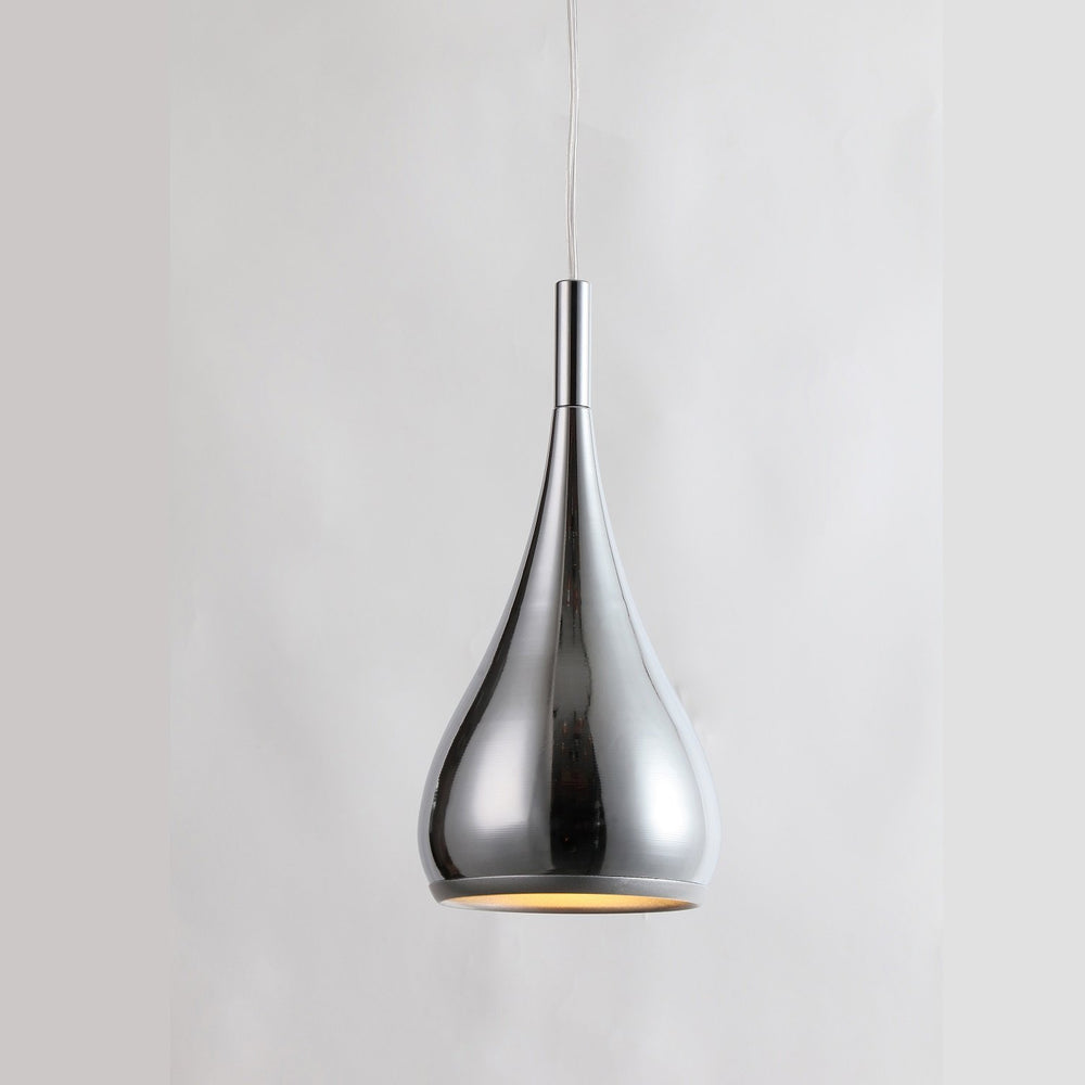 Polo Chrome Solid Teardrop Pendant by Amond