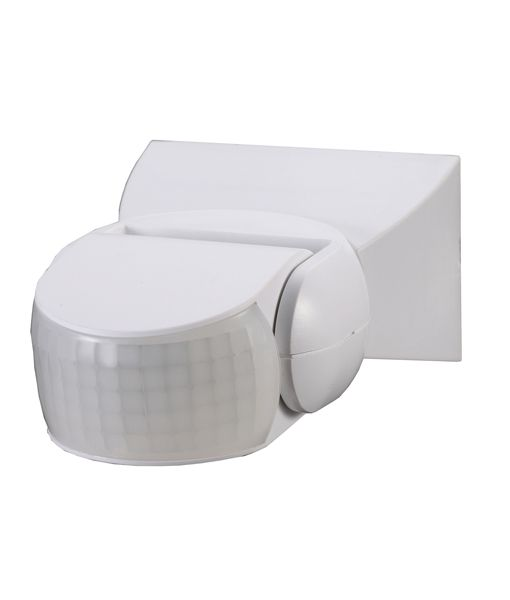 SENS001 White PIR 180 Degree Adjustable Sensor