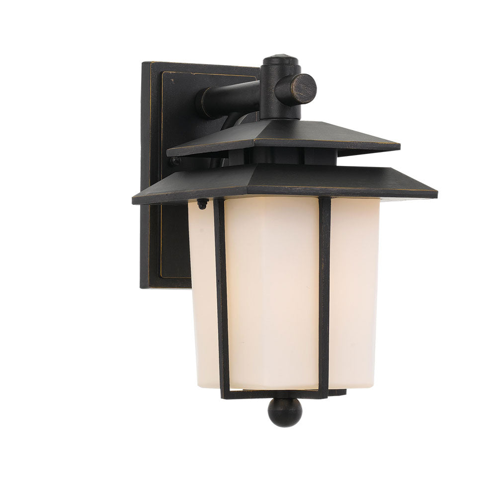 Silvan Square Pagoda Modern Lantern Coach Light