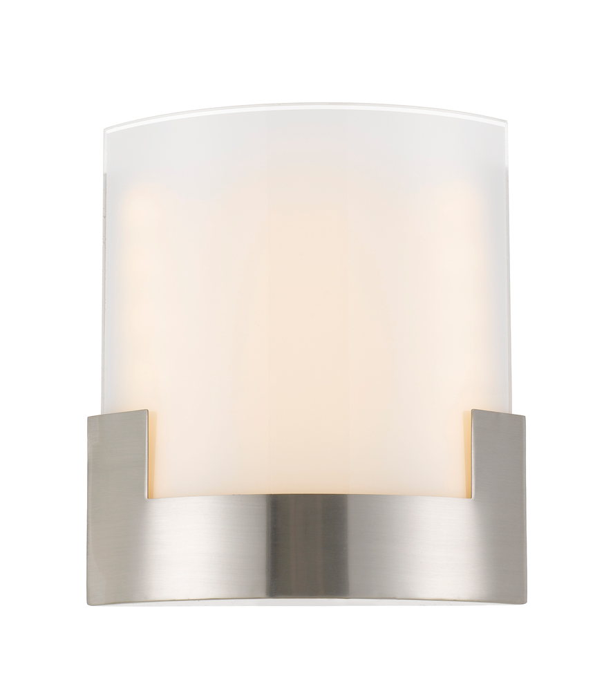 Solita 20cm Nickel Colour-changing LED Wall Sconce