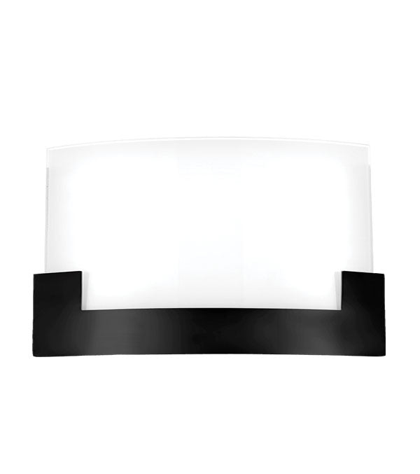Solita 35cm Black Colour-changing LED Wall Sconce