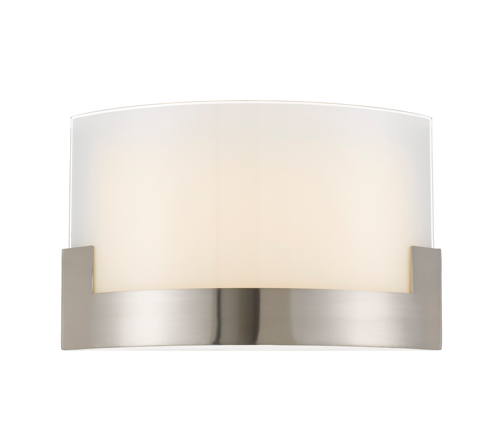 Solita 35cm Nickel Colour-changing LED Wall Sconce