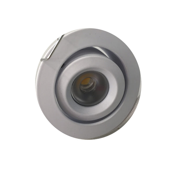 U3020 Round White 3 watt LED 3000k