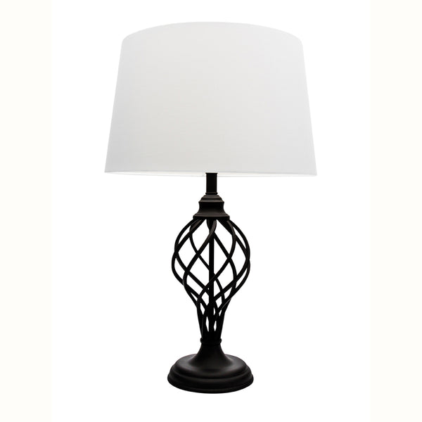 Valencia Spiral Cone Core Table Lamp