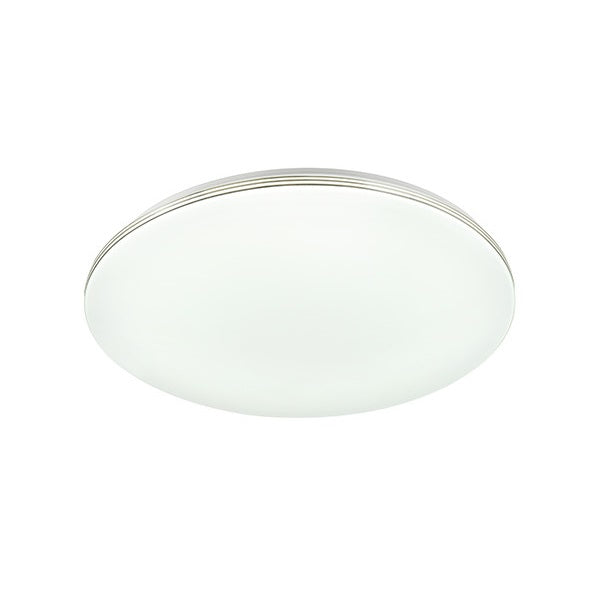 Venu 24w Cool White Round Step-dimming LED Oyster