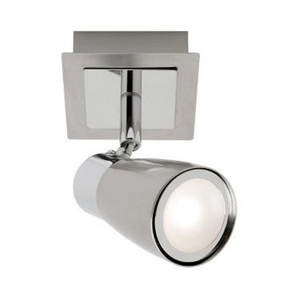 Alecia Brushed Chrome 1 Light 9W LED Spotlight