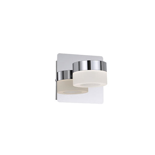 Axel 1 Light LED Cylindrical Wall Light