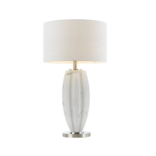Axis White Marble Large Table Lamp