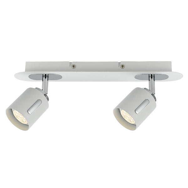 Burton 2 Light LED Spotlight White