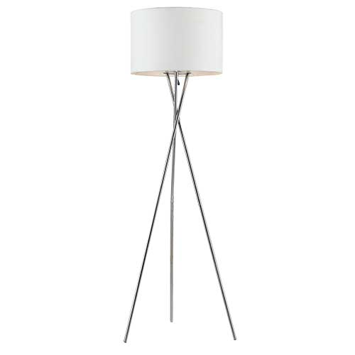 Denise White Floor Lamp
