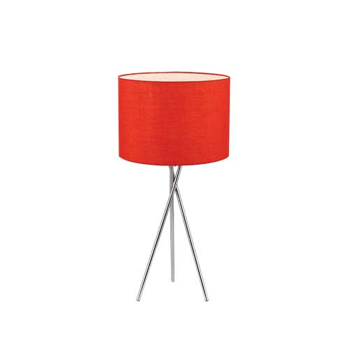 Denise Red Table Lamp