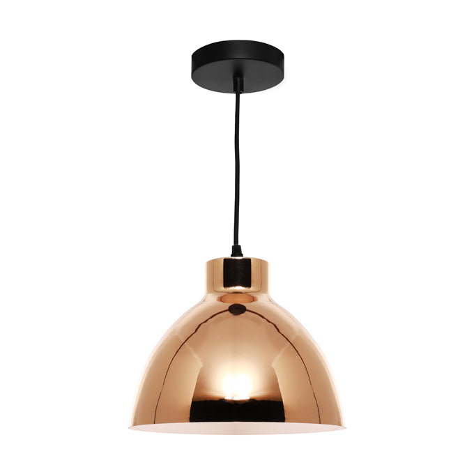 Dome Gold Industrial Pendant