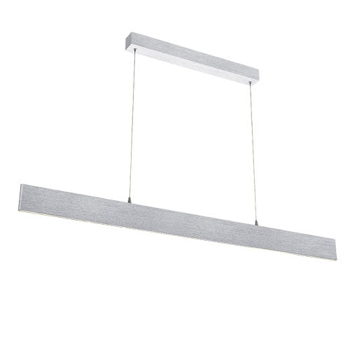 Essex Aluminium 120cm LED Linear Panel Pendant