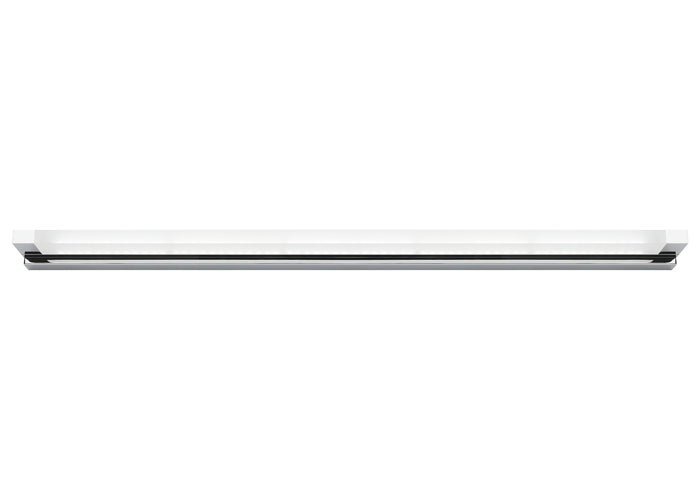 Lynx 20w Black Split Linear LED Vanity Wall Light