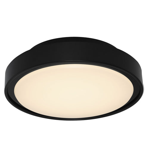 Hayman Large Exterior Black Bunker Light