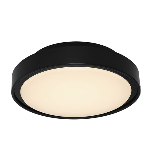 Hayman Small Exterior Black Bunker Light