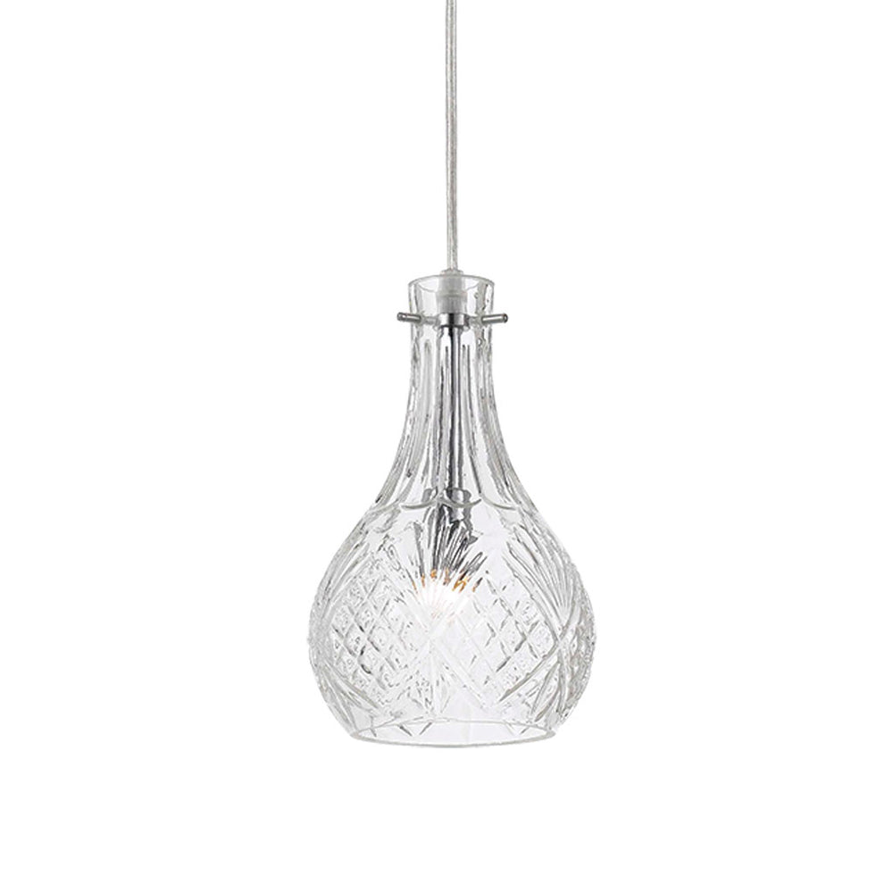 Lenti Clear French Provincial Glass Pendant