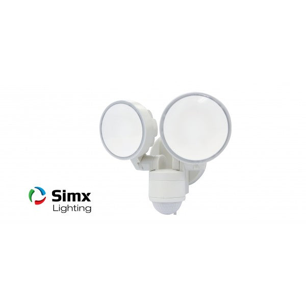 Sensor LED Max 2 Light White with Sensor Sercurity Spot Light