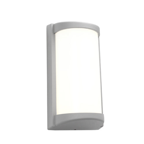 Logan Exterior Silver Wall Light