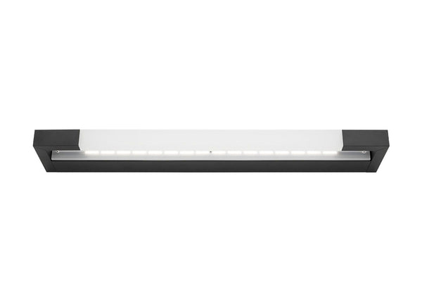 Lynx 16w Black Split Linear LED Vanity Wall Light