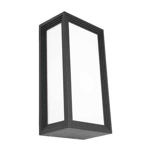 Lyon Exterior Rectangle Charcoal Bunker Light