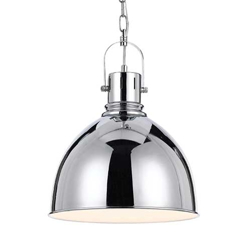 Market Chrome Industrial Pendant