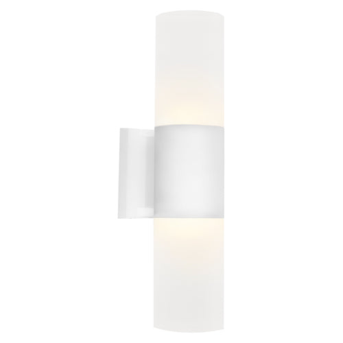 Ottawa Up and Down White Architectural Exterior Wall Light