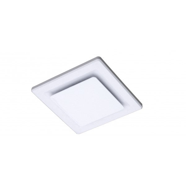 Ovation 250 White Square Exhaust Fan