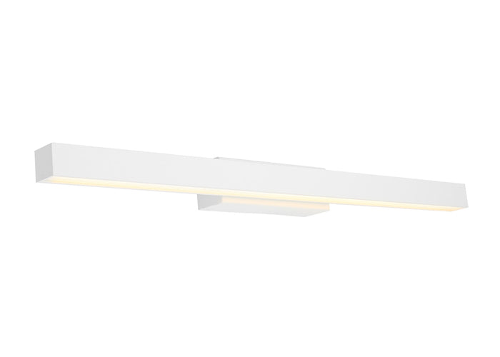 Polo16w White LED Vanity Wall Light