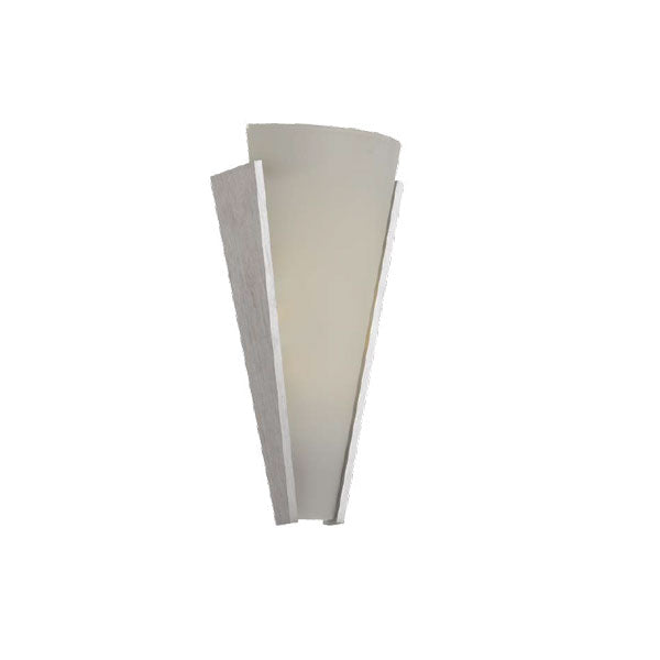 Saffi Nickel Colour Changing Wall Sconce Light