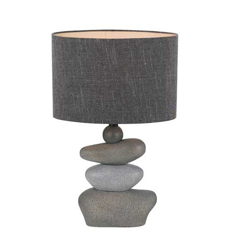 Sandy Layered Rock Base Table Lamp