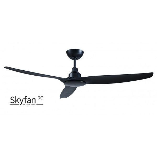 "Skyfan 60""/1500mm Black DC Motor Glass Fibre Composite Ceiling Fan"