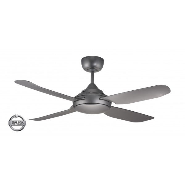 "Spinika 52"" Titanium ABS Plastic 132cm AC Motor Ceiling Fan By Ventair"