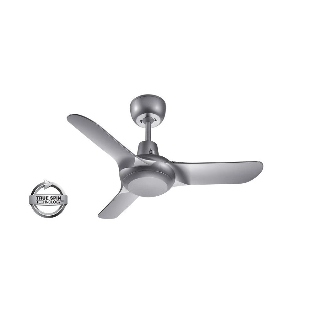 Spyda 903mm Titanium 3-Blade ABS Plastic Ceiling Fan By Ventair