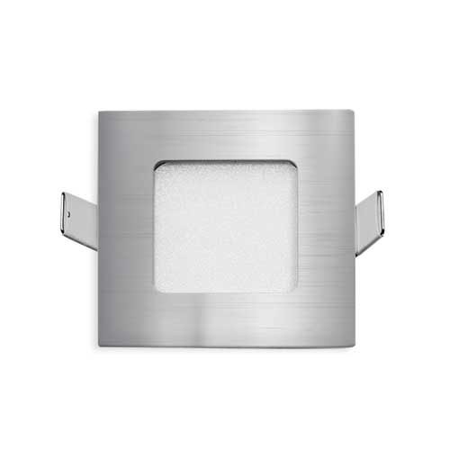 Stow Silver Square-850 Recessed LED Stair Fixture