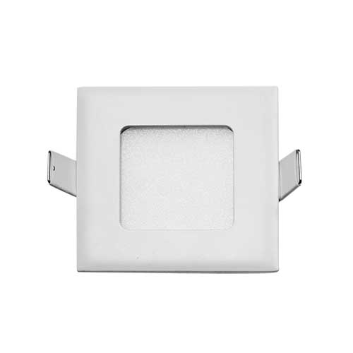 Stow White Square-830 Recessed LED Stair Fixture