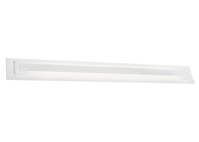 Taurus 20w White Large LED Linear Wall Vanity