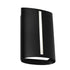 Temma Black LED Vertical Slot Cover Exterior Wall