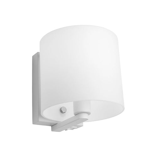 Tida White and Opal Wall Light