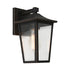 York Bronze Tapered Lantern Exterior Coach Wall Light