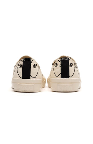 Play Comme Des Garçons Converse All star low White Pattern