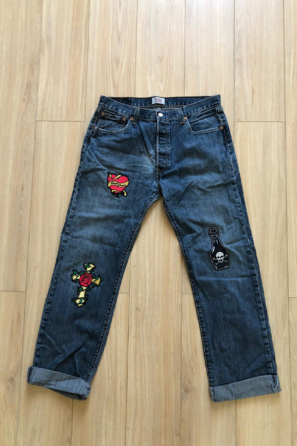Levi's Originals reclaimed Vintage 501 Jeans