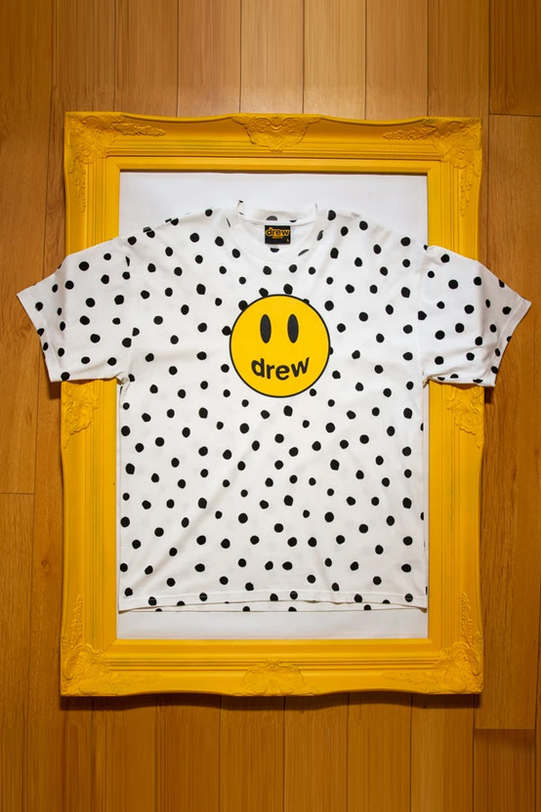 Drew House dot marscot T-Shirt White