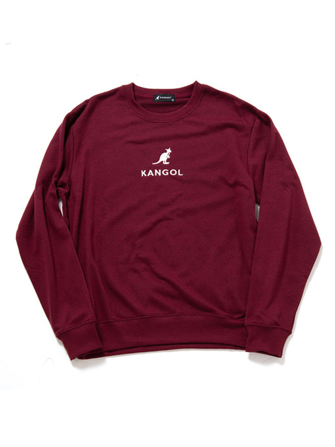 Kangol embroidered logo Sweatshirt Red
