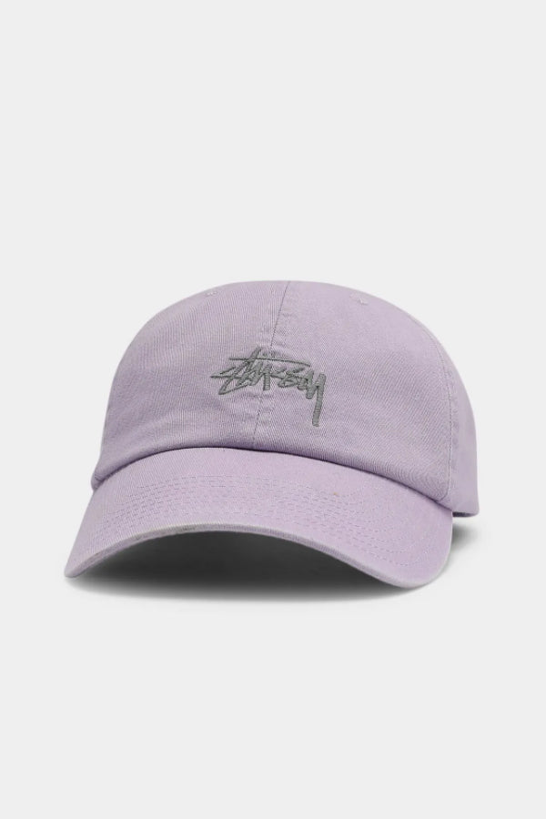 Stussy Stock Low Pro Cap Lilac