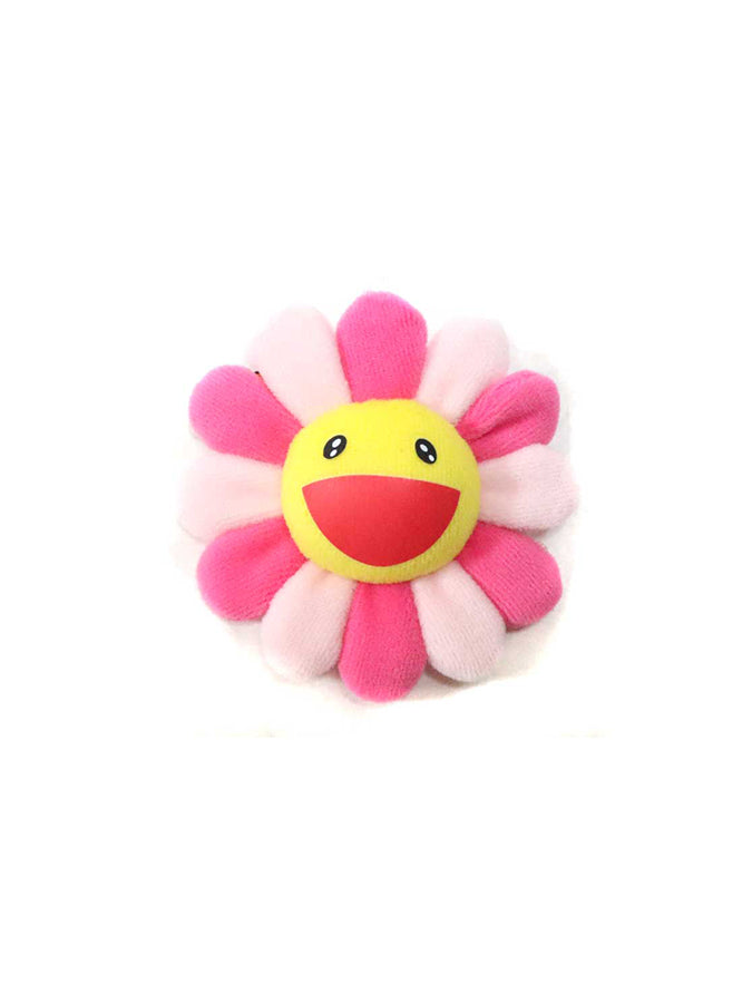 村上隆 Takashi Murakami Flower Plush Pin Pink