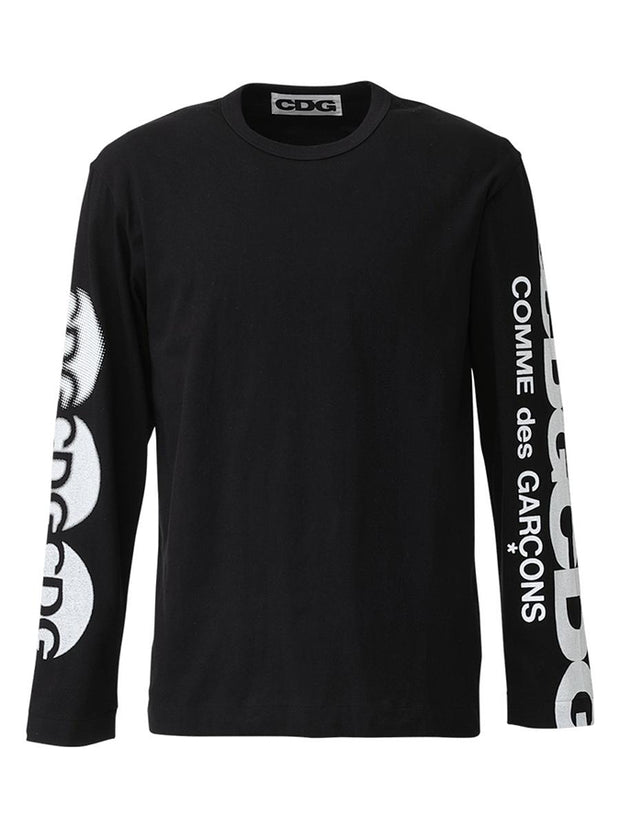 Cdg LS T-Shirt2 Black